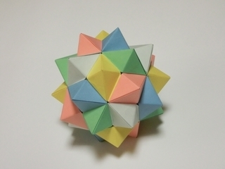 正8面体×5の正複合多面体: 天空...